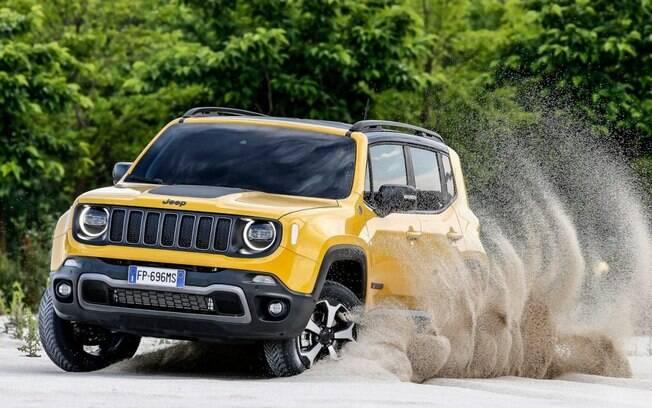 Jeep Renegade Trailhawk fica ainda mais descolado e aventureiro em sua renovação, que fará o carro ganhar apelo