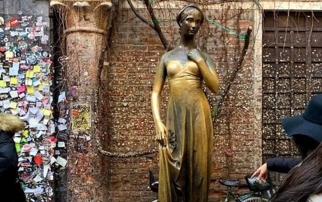 Estátua de Julieta em Verona/Itália