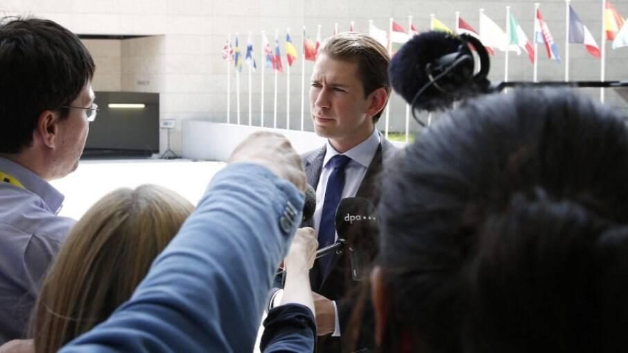 Sebastian Kurz, chanceler da Áustria