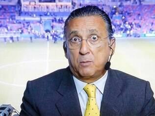 Distraído, Galvão Bueno acabou não vendo que o meia Oscar fez o gol contra a África do Sul