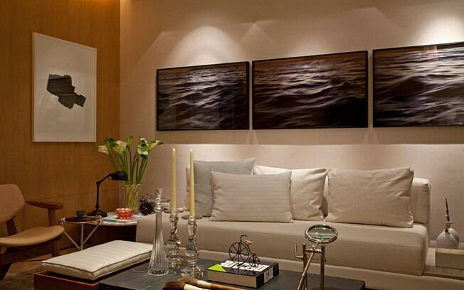 Como decorar com quadros decora o ig for Decoraciones de sala modernas para apartamentos