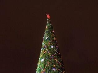 Árvore de Natal da praça Vermelha,em Moscou