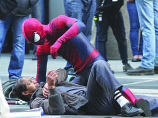 Sequência.  Em novo filme, Peter Parker luta para salvar novamente a cidade de Nova York de vilão