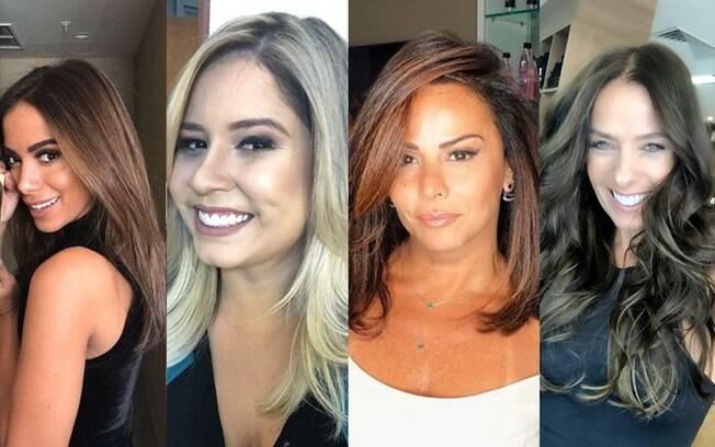 Anitta, Marília Mendonça, Viviane Araújo e Adriane Galisteu passam por mudanças no look durante a semana