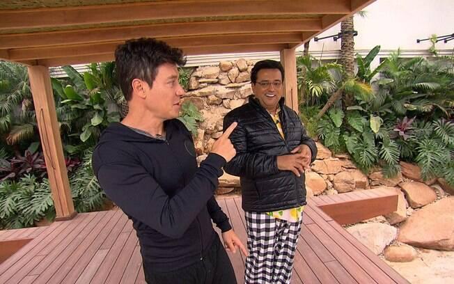 Rodrigo Faro e Geraldo Luís