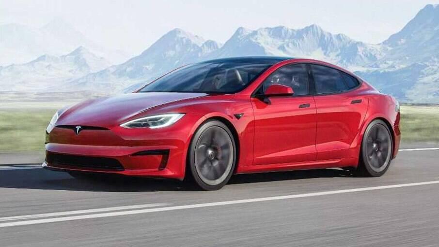 O Tesla Model S Plaid foi homologado como o carro mais rápido do mundo na atualidade