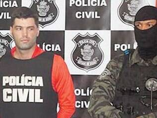 O vigilante Tiago da Rocha, que está em um presídio de Goiás