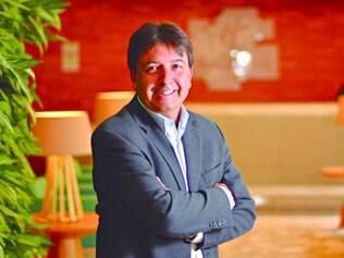 Diferencial. O presidente da Patrimar, Alex Veiga, diz que BH sai de uma hotelaria antiga e ganha o Holiday Inn, um presente para a cidade