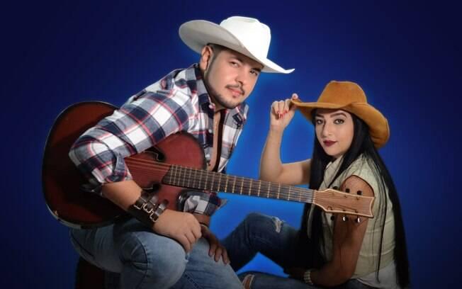 Dupla Ryan & Mariana que homenageia a apresentadora Maju Coutinho