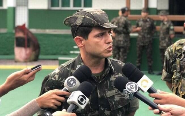 O tenente-coronel Adelmo de Sousa Carvalho Filho vai ser chefe da missão de paz dos militares brasileiros no Congo