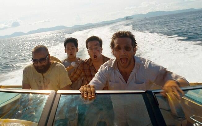 Bradley Cooper e a trupe de