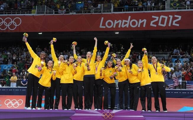 Seleção feminina de vôlei faturou o bi nos Jogos de Londres