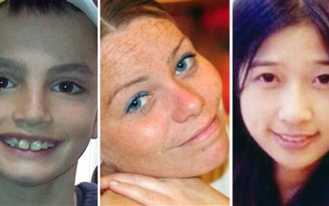 As três vítimas do ataque em Boston: Martin Richard, Krystle Campbell e Lingzi Lu