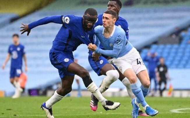 Em 'prévia' da Champions, Chelsea vence o Manchester City de virada e impede título inglês adiantado