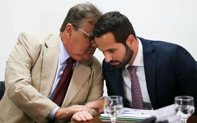 Geddel (esq.) e Calero (dir.) protagonizaram impasse sobre obra na Bahia; ambos pediram demissão do governo Temer