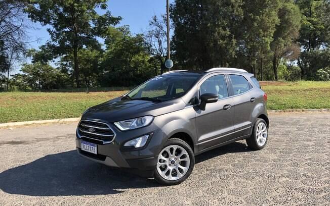 Ford EcoSport 2020: novo modelo está 13 kg mais leve sem o aparato de sustentação e estepe