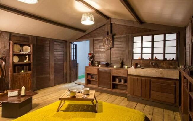 A casa de chocolate só poderá ser reservada para as noites do dia 5 e 6 de outubro individualmente