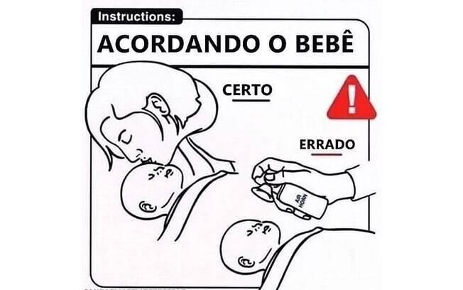 como cuidar de um bebê