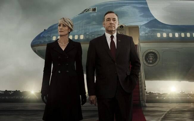 ''House of Cards'', da Netflix, é uma das séries que ainda não teve seu futuro decidido para próxima temporada