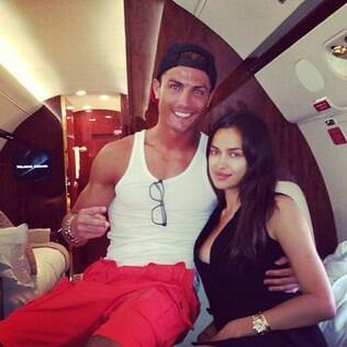 Cristiano Ronaldo curte férias