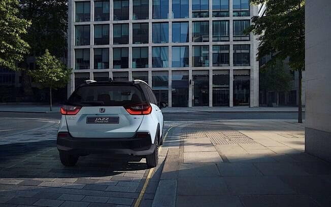 Novo Honda Fit. Foto: Divulgação