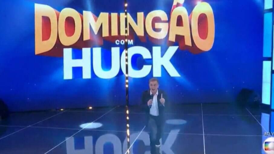 Luciano Huck estreia no