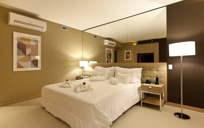 Quarto do hotel eSuites Savassi Toscanini
