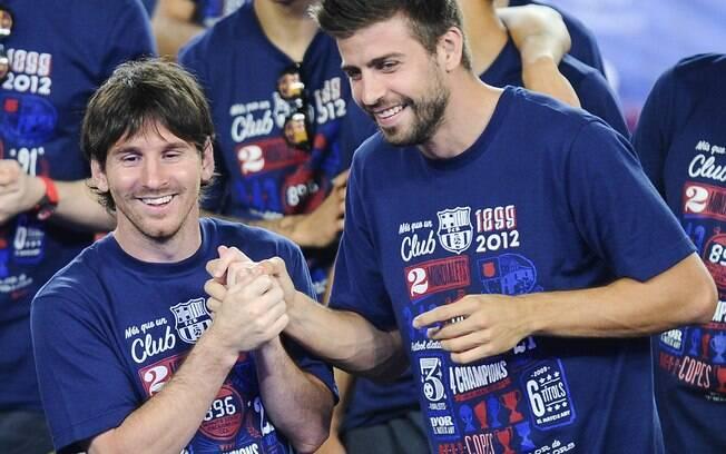 Com tantos recordes, 2012 foi escasso em  títulos. Vice no Espanhol, Messi faturou apenas a  Copa do Rei com o Barcelona na temporada