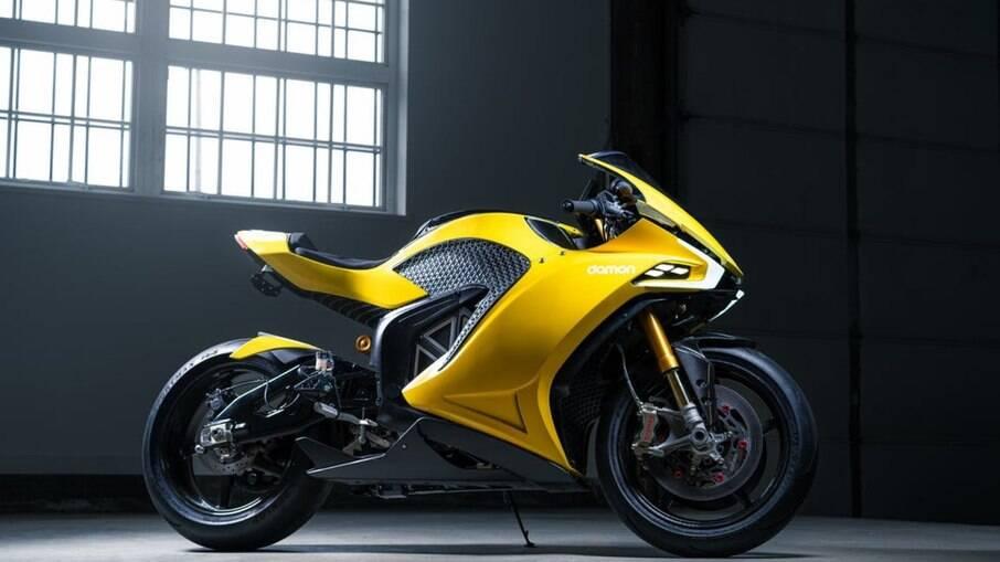 Damon Hypersport é customizável e pode atingir 320 km/h sem limitador de velocidade