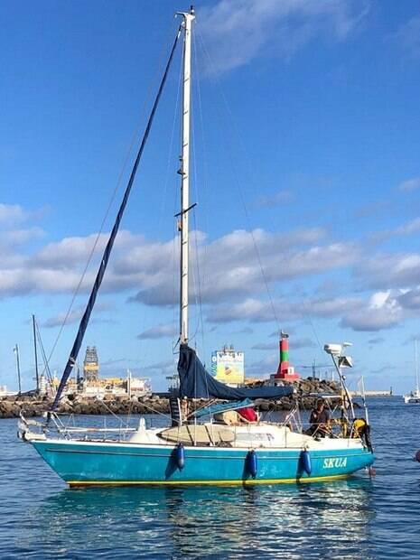 Barco de Ballestero ancorado