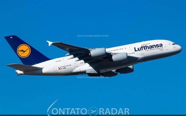 Lufthansa enviará mais quatro Airbus A380 para armazenamento de longo prazo