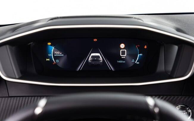 Peugeot 208 da nova geração terá cluster digital, assim como a dupla de SUVs 3008 e 5008