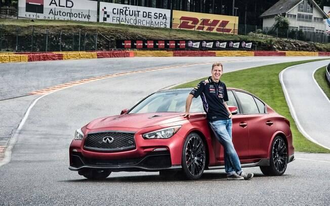 Vettel: com quatro títulos na fase inicial da carreira, o segundo maior piloto alemão supera Hamilton