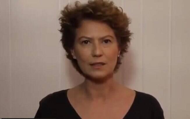 Patrícia Pillar desmente boatos de agressão e garante voto em Ciro Gomes