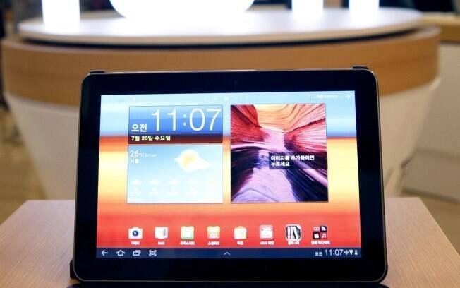 Galaxy Tab 10.1: tablet sofisticado com Android