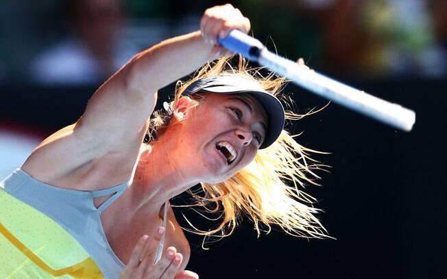 Sharapova teve mais uma vitória fácil no  Aberto da Austrália e já está nas quartas de  final