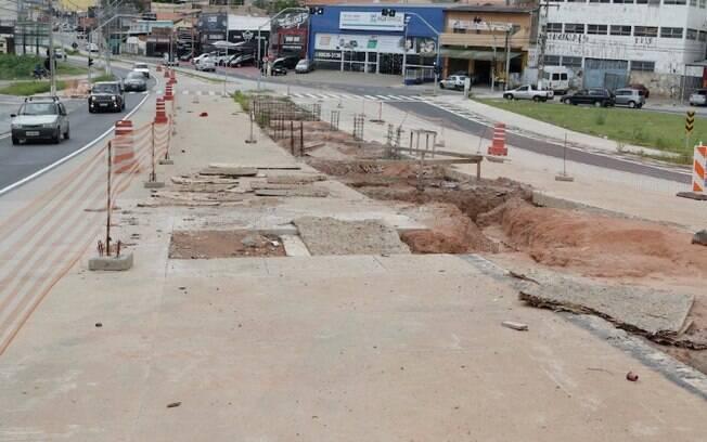 BRT sofre novo atraso e obra só ficará pronta em 2022