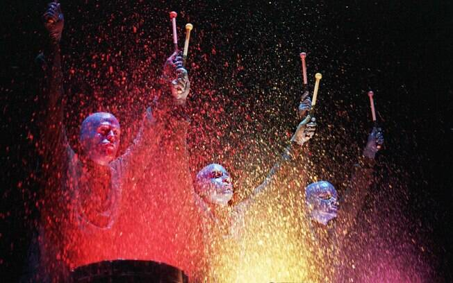Blue Man Group fará participação no desfile do Monobloco
