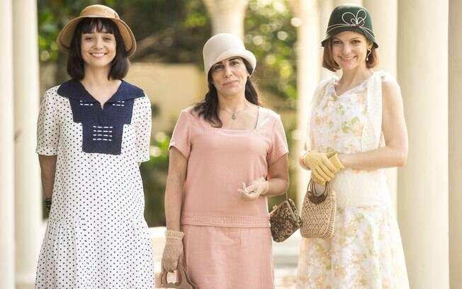 Clotilde, Lola e Olga