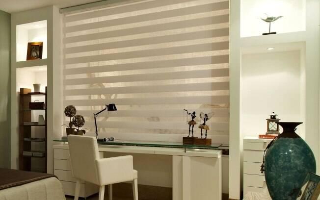 Fácil de limpar, persiana Sheer Elegance da Kyowa Tapeçaria sai por R$ 1.392