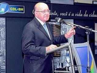Economia: A excelência do ex-ministro da Fazenda, Maílson da Nóbrega, em palestra na sede da Câmara dos Dirigentes Lojistas de BH