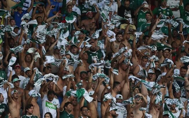 Torcida do Palmeiras foi proibida de apoiar o time em jogos fora do Allianz Parque