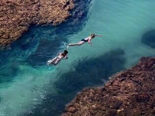 Mergulho em Cumamu