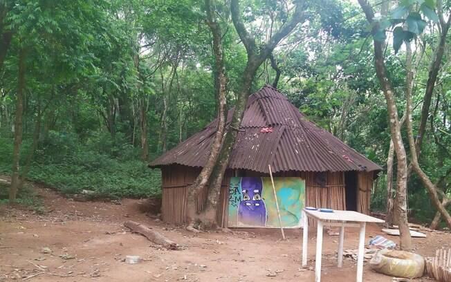 Tekoa Itakupe é uma das seis aldeias localizadas no Território Indígena do Jaraguá
