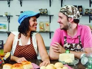 Casal. Ênia e Daniel começaram a fazer pães de queijo para amigos em São Paulo e, como deu certo, voltaram a Minas para abrir negócio