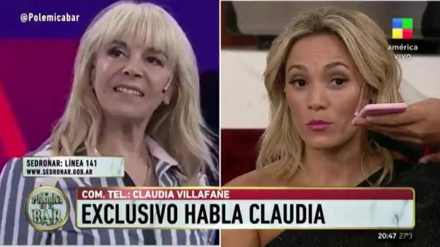 Ex-mulher e ex-namorada de Maradona batem boca