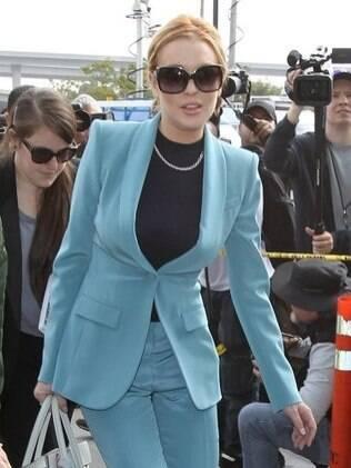 Lindsay Lohan é acusada de agredir uma mulher em balada de Hollywood