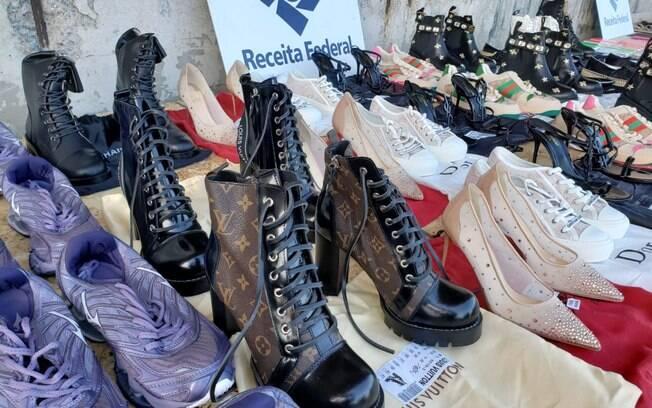 Além dos danos à saúde, a comercialização de produtos falsificados  viola os direitos autorais