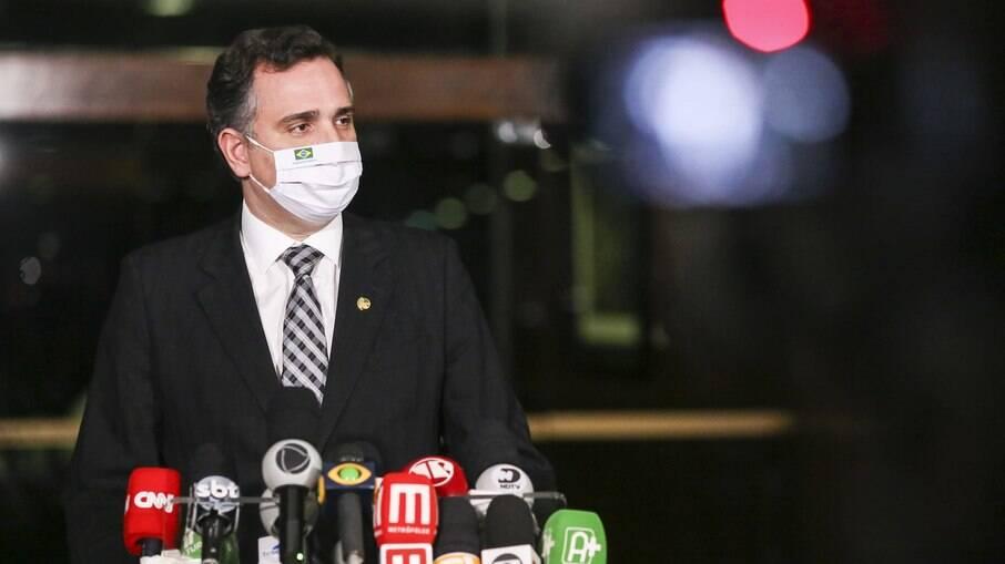 Presidente do Senado, Rodrigo Pacheco (DEM-MG)