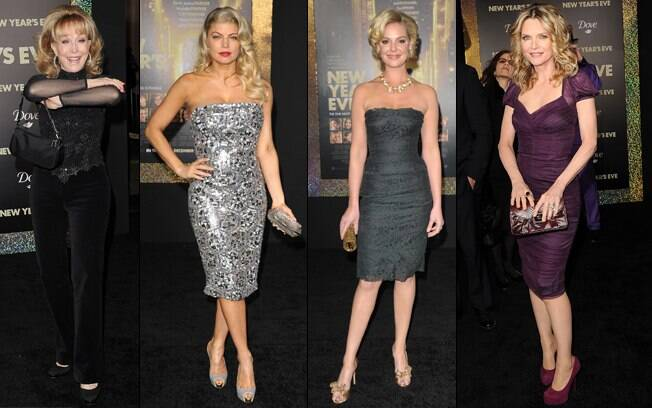 Barbara Eden, Fergie, Katherine Heigl e Michelle Pfeiffer: estrelas no red carpet